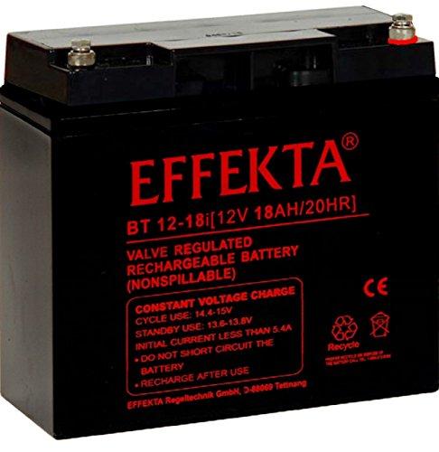 EFFEKTA BT12-18i / 12V 18Ah AGM Blei Akku Batterie