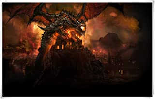 Cataclysm DEATHWING Wooden Jigsaw Puzzle,Intelligent Educational Toys for Kids Adult,Premium Quality Parent-child Toy,DIY ...
