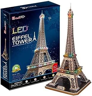 CubicFun 3D Puzzle Eiffel Tower (L091H)
