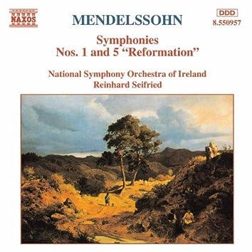 Mendelssohn: Symphonies Nos. 1 and 5