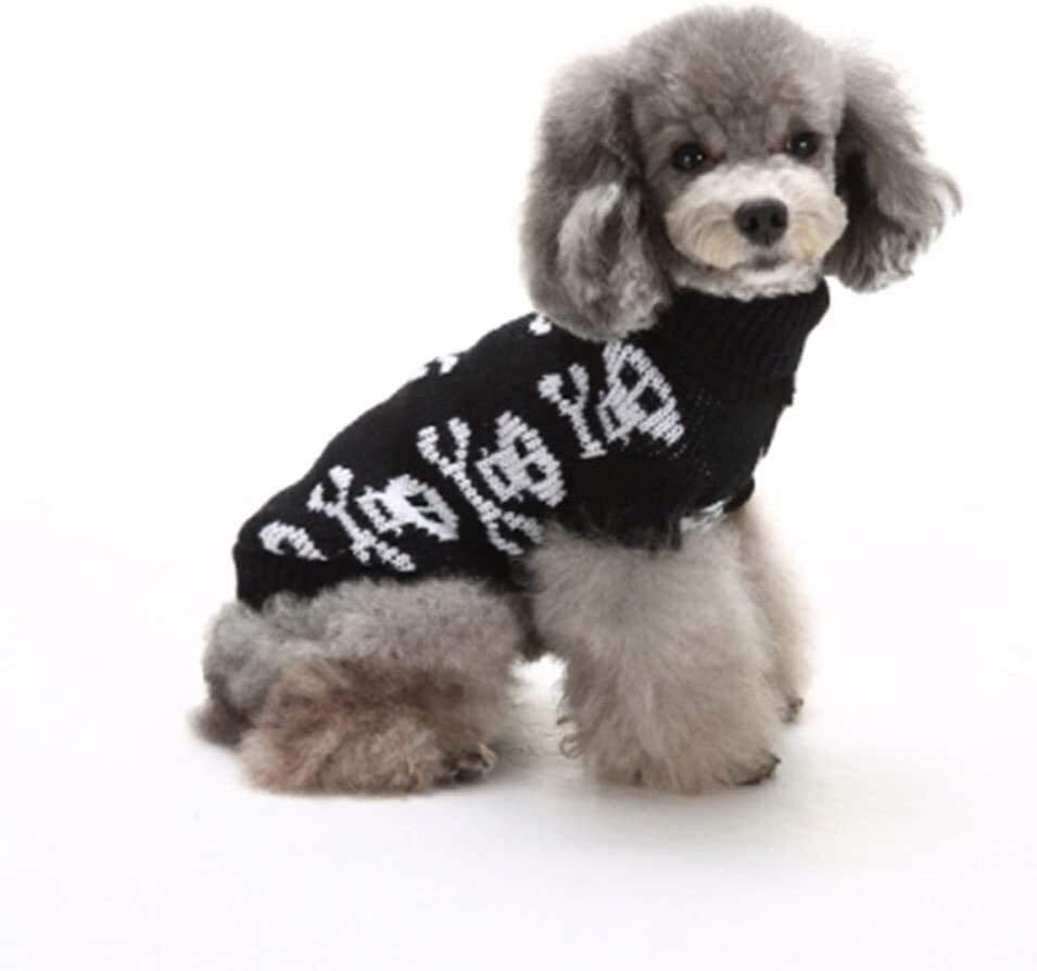 New Free Shipping RENFEIYUAN Halloween Cute Pet Sweater Lovely Hea Skull Philadelphia Mall Christmas