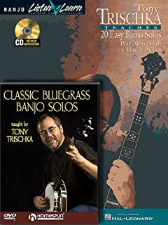 Tony Trischka - Banjo Bundle Pack: Tony Trischka Teaches 20 Easy Banjo Solos (Book/CD Pack) with Classic Bluegrass Banjo S...