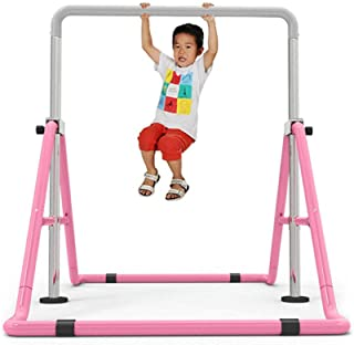WUPYI2018 Barre Gymnastique pour Enfants,Hauteur réglable,Charge maximale: 100kg,Équipement d'entraînement pour Le Ballet ...