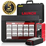LAUNCH X431 V Pro Bi-Directional Scan Tool Full System Automotive Diagnostic Scanner Key Injector ECU Coding Actuation Test TPMS ABS Bleeding -Free Online Update, EL-50448 Tool as Gift