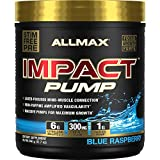 IMPACT Pump - Non-Stim Pump Pre-Workout - Blue Raspberry - 360 Gram