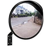 ONVAYA specchio per il traffico da 30 cm | specchio convesso per angolo morto | specchio di sicurezza | specchio di sorveglianza | specchio panoramico