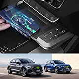 JUSTGJS 2021 Upgrade Car Wireless Charger Mount Qi Standard Wireless Charger 15W Charge Rapide pour...