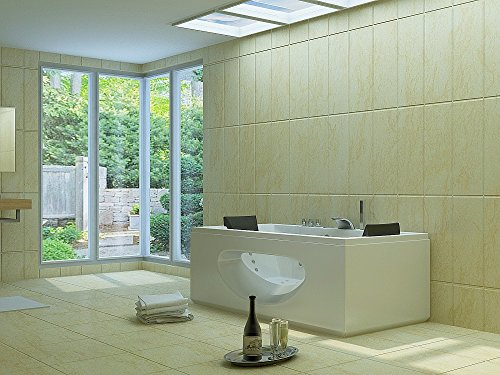 Luxus Whirlpool Badewanne 180×90 in Vollausstattung (Massage) – Sonderaktion - 2