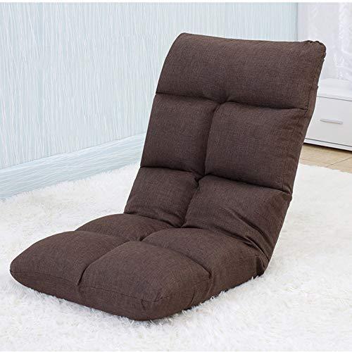 AiHerb.LO JL HX Tatami Paresseux Canapé Chambre Simple Baie Vitrée Pliante Loisirs Lit Dortoir Chaise Mini Canapé-lit Sac en Coton Indépendant Lavable Simple Et Pratique A+ (Couleur : F)