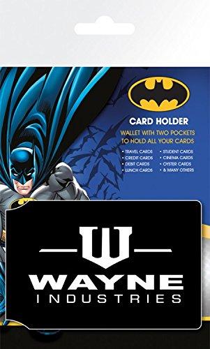 1art1 Batman - Wayne Tarjeteros para Tarjetas De Crédito (10 x 7cm)