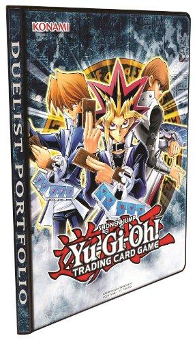 KonamiAccygo028 - Raccoglitore Generico per Carte Yu-Gi-Oh, 9 custodie per Pagina