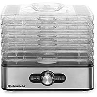 Elite Gourmet Food Dehydrator (Stainless Steel)
