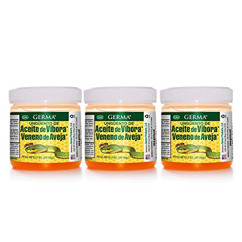 Germa Snake Oil and Bee Venom, Analgesic Ointment / Pomada Aceite de...