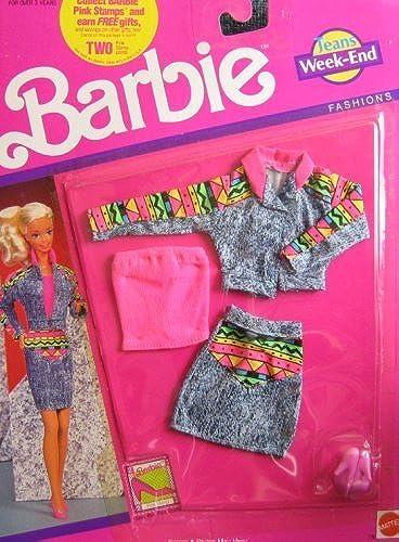hasta un 50% de descuento Barbie Jeans Jeans Jeans Week End Fashions Clothes (1990 Arco Toys, Mattel) by Barbie  ordene ahora los precios más bajos