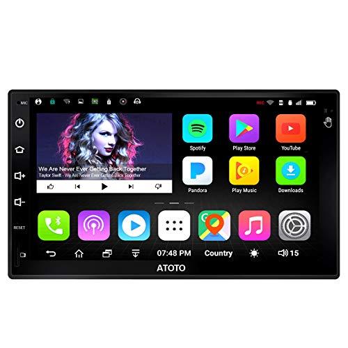[Nouveau] ATOTO 10 Pouces Double Din Navigation de Voiture Android Stéréo - A6 Pro A6Y1021PR - 2X Bluetooth, avec aptX - Charge Rapide, Affichage IPS - Radio multimédia Auto, WiFi, Lecture 256G