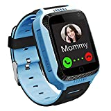 GPS Waterproof Kids Smart Watch for Students, Girls Boys Touch Screen Smartwatch