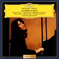 Martha Argerich - Chopin: 24 Preludes Op.28.Etc. [Japan LTD CD] UCCG-5024 by Martha Argerich