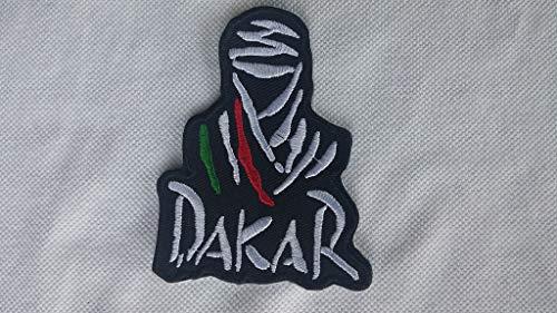 PATCHMANIA Patch, Aufnäher Bestickt Bügelbild, Tuareg Dakar Rally Tricolore,