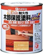 カンペハピオ 油性木部保護塗料 とうめい 0.7L