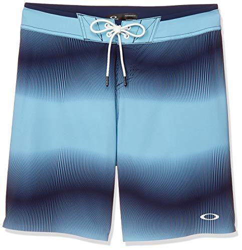 Oakley Dynamic Seamless Boardshort 19' Pantalones Cortos, Azul Aviador, 80A para Hombre