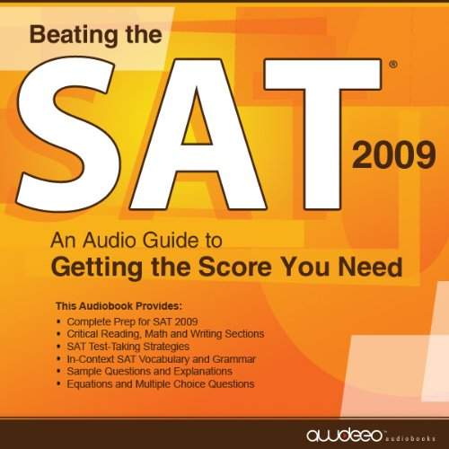 Beating the SAT 2009 audiobook cover art