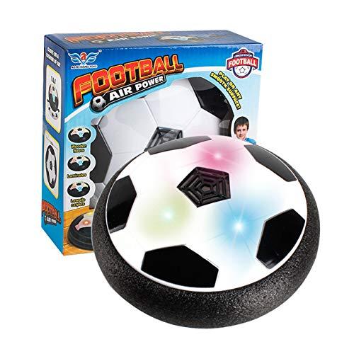 Ballylelly LED-Licht Blinkende Musik Ball Spielzeug Elektrische Luftkissen Federung Fußball Disc Indoor Football Schwebend Gleiten Spielzeug