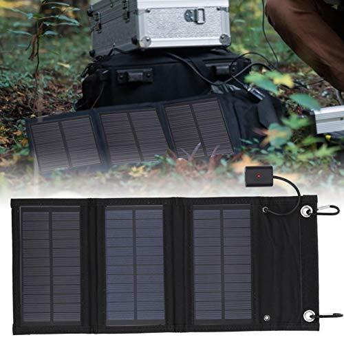 ソーラーパネル折りたたみパック、LED充電インジケーターカメラ用ソーラーエネルギーパネルソーラー充電器ラップトップカーバッテリー、カート、コーチ、船、飛行機