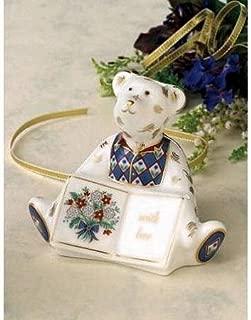 Royal Crown Derby Teddy Bear With Love Greetings