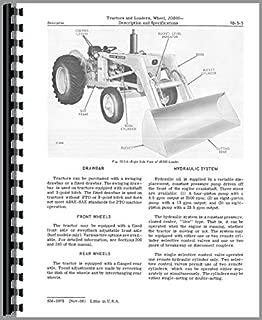 Service Manual John Deere 300 Wheel Tractor Loader sm2073