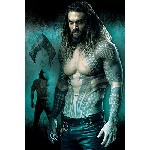 Poster pic justice league aquaman tidal wave