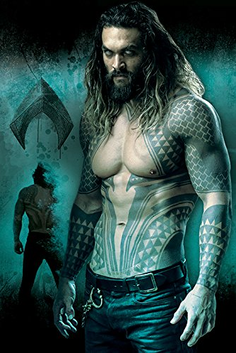 DC Comics Aquaman Maxi póster, multicolor, 61 x 91,5 cm