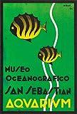 San Sebastian Aquarium-Poster, Reproduktion, Format Size,