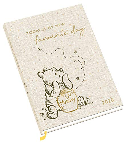 Winnie The Pooh 2020 Diary - Official A5 Week To View Diary