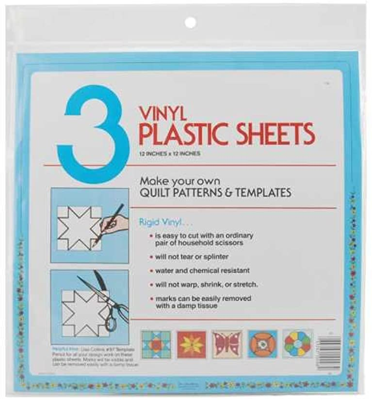Quilter's Plastic Template 12x12