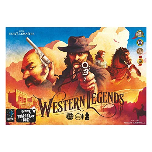 Board Game Box Western Legends (deutsch)