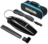 [Updated]Car Vacuum, LOLLDEAL 12V 75W Black Car Vacuum Cleaner Super...