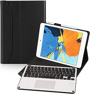 Ewin iPad9.7キーボード付きケース トラックパッド搭載 脱着式ワイヤレスBluetoothキーボード iPad 9.7第5世代と第6世代 iPad Air第1世代 iPad Air2 iPad Pro 9.7対応 ペンシル収納 日本語...