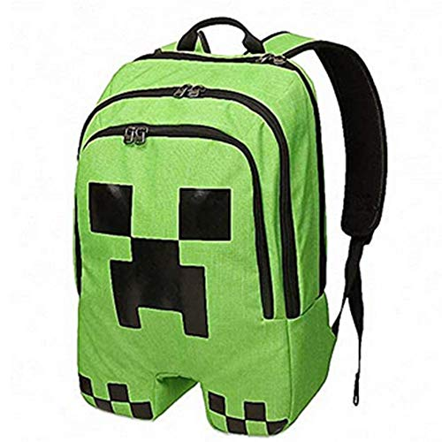 The Emerald Green Backpack Around The Game, The Dragon Backpack Campus Student Bag Leisure Backpack (JJ Monster)