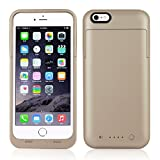 Novpeak Battery Case for iPhone 6 Plus/6s Plus - [6800mAh] Rechargeable Portable Power