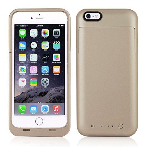 Funda Bateria iPhone 6 Plus/ 6s Plus,NOVPEAK Funda Cargador Portatil para iPhone 6S Plus/6 Plus Recargable Batería Externa Carcasa Batería