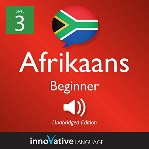 Learn Afrikaans - Level 3: Beginner Afrikaans cover art