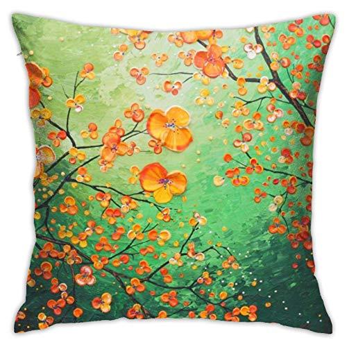 XCNGG Kissenbezug Home Kissenbezug Bettwäsche Throw Pillow Case, Leaf Famous Pillow...