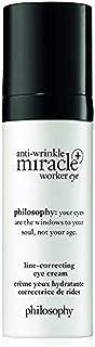 Philosophy Anti-Wrinkle Miracle Worker Eye Plus for Unisex 0.5 oz Cream