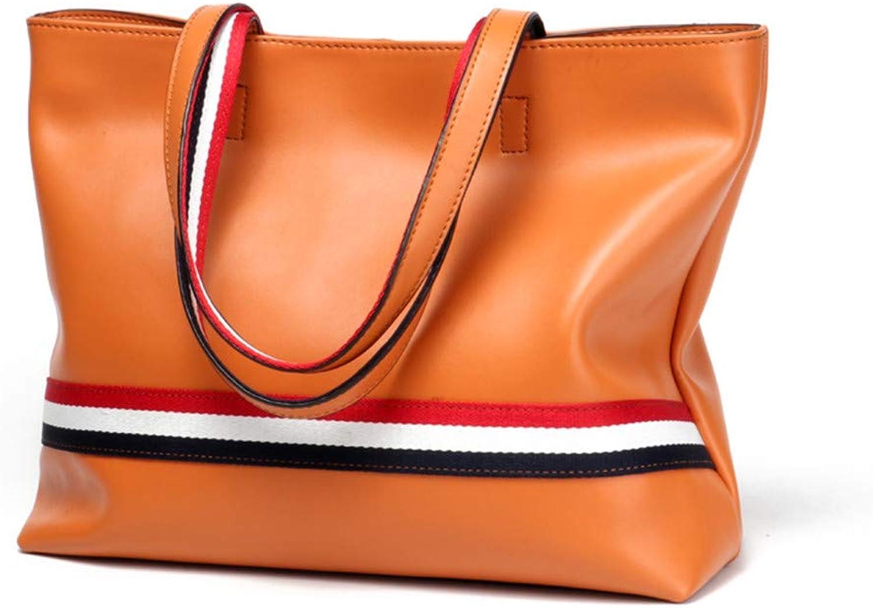 LEIAZ Heiße Handtaschen Einfache Und Vielseitige Damenhandtasche Europäische Und Amerikanische Umhängetasche Eimer Tasche B07PGGN86X