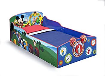 Delta Children Interactive Wood Toddler Bed Disney Mickey Mouse