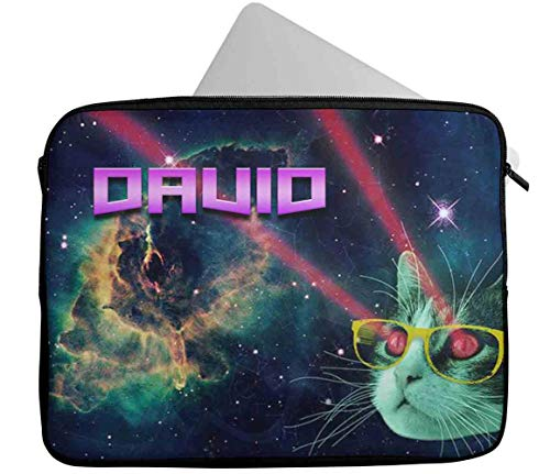 Personalised Any Name Generic Design Laptop Case Sleeve Tablet Bag Chromebook Gift 34 (9-10 inch)