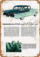 Clipper Custom Sedan ティンサイン ポスター ン サイン プレート ブリキ看板 ホーム バーために