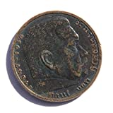 1936 DE Germany'Paul von Hindenburg' 5 Reichsmark Silver Coin Fine