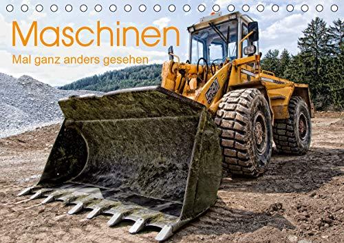 Maschinen - Mal anders gesehen (Tischkalender 2021 DIN A5 quer)