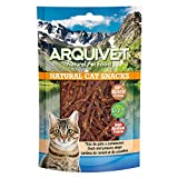 Arquivet Tiras de pato y camarones - Natural Cat Snacks - Snacks gato - 50 g